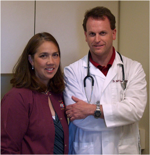 Dr. Matt Schmitt and Stephanie St. Jeor Schmitt